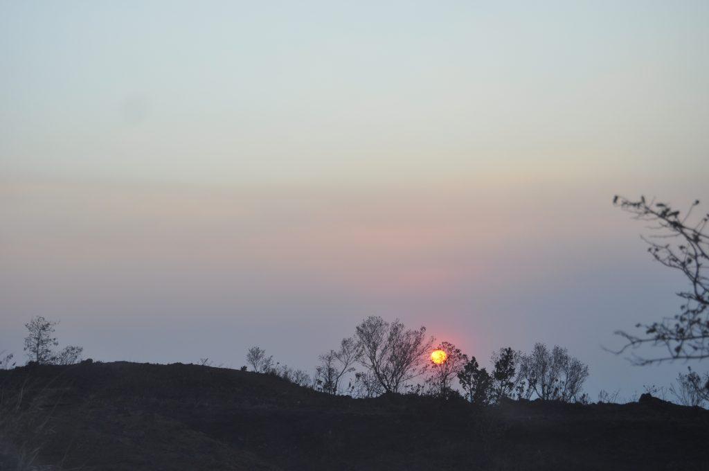 Pôr do Sol no Topo do Mundo
