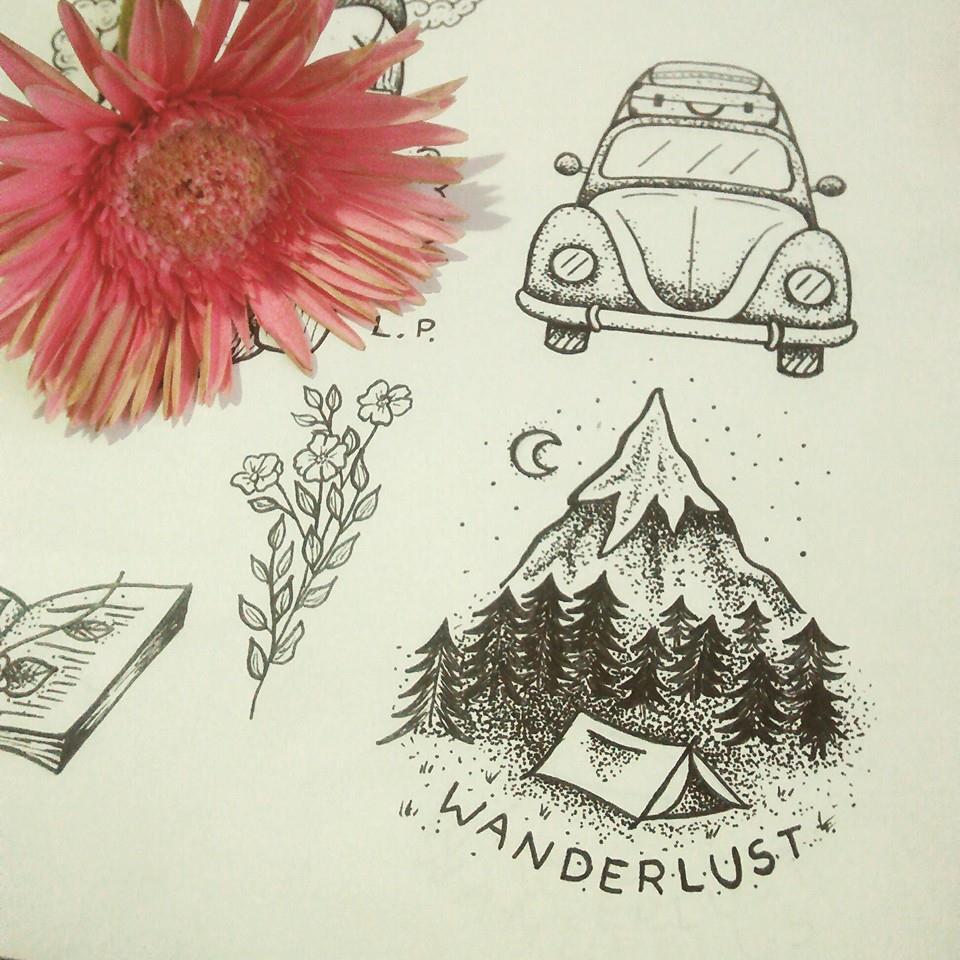 5 Inspiracoes De Tatuagens Para Viajantes Blog Te Vejo Por Ai